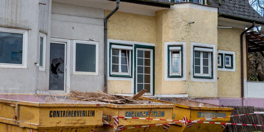 Umbau & Wanddurchbruch